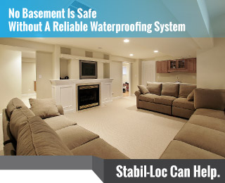 Basement Waterproofing StabilLoc - Basement waterproofing products